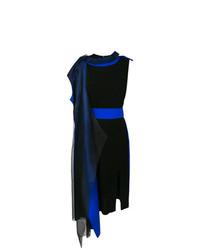 Vestido midi negro de Maison Margiela