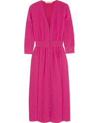 Vestido midi rosa original 9950316