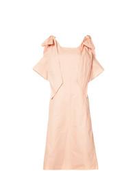 Vestido midi rosado de Chloé