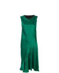 Vestido midi verde de Haider Ackermann