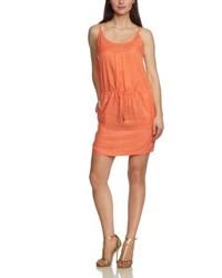 Vestido naranja de Calvin Klein