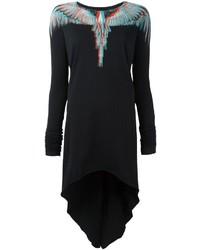 Vestido negro de Marcelo Burlon County of Milan