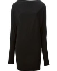 Vestido negro de Norma Kamali