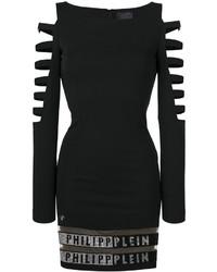 Vestido negro de Philipp Plein