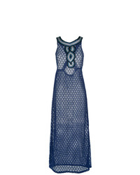 Vestido playero azul marino de BRIGITTE