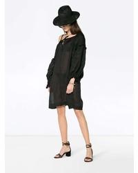 Vestido playero negro de Innika Choo