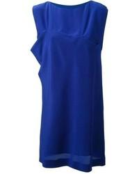Vestido recto azul original 10070120