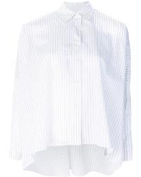 Vestido recto blanco de MM6 MAISON MARGIELA