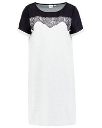 Vestido Recto Blanco de Object