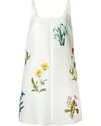 Vestido recto bordado blanco de Stella McCartney