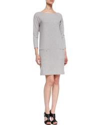 Vestido recto gris original 10074824