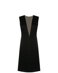 Vestido recto negro de Gloria Coelho