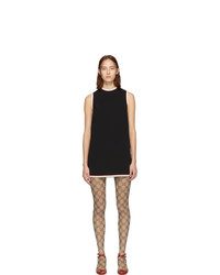 Vestido recto negro de Gucci