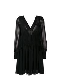 Vestido recto negro de Stella McCartney
