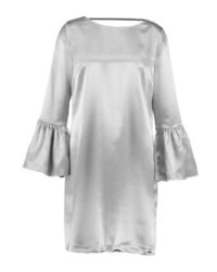 Vestido recto plateado de Armani Exchange