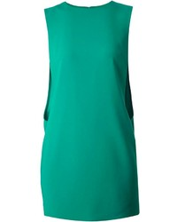 Vestido recto verde original 10072864