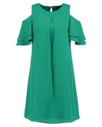 Vestido recto verde de Dorothy Perkins