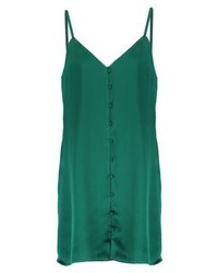 Vestido recto verde de Fashion Union
