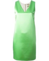 Vestido Recto Verde de Fausto Puglisi