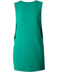 Vestido Recto Verde de Kenzo
