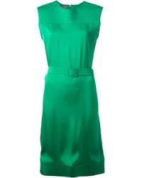 Vestido Recto Verde de Lanvin