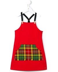 Vestido rojo de Junior Gaultier
