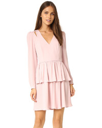 Vestido rosado de Rebecca Minkoff
