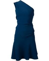 Vestido Skater Azul Marino de Cushnie et Ochs