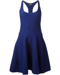 Vestido Skater Azul Marino de Emporio Armani