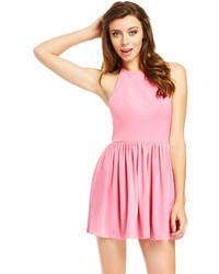 Vestido skater rosado original 1425075