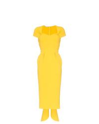 Vestido tubo amarillo de Stella McCartney