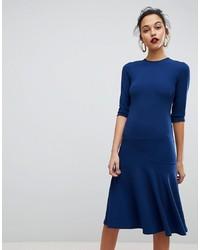 Vestido tubo azul marino de Club L