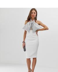 Vestido tubo blanco de ASOS DESIGN