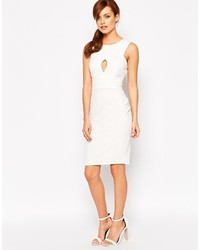 Vestidos tubo en blanco