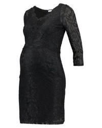 Vestido Tubo de Encaje Negro de Anna Field