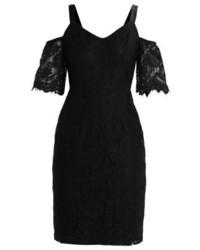 Vestido Tubo de Encaje Negro de Dorothy Perkins