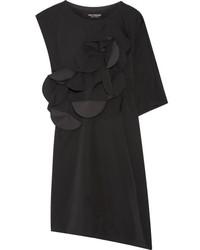 Vestido tubo de lana con recorte negro de Junya Watanabe