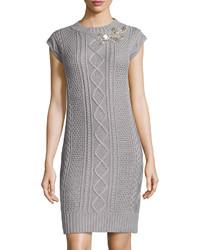 5aed855f68 Comprar un vestido tubo de punto gris  elegir vestidos tubo de punto ...