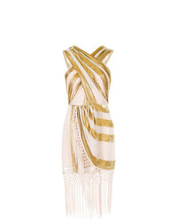 Vestido tubo dorado de Alice McCall