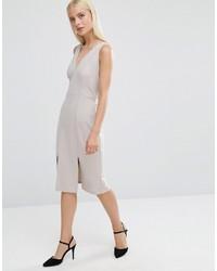Vestido tubo gris de Asos