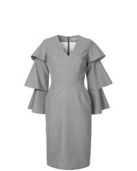 Vestido tubo gris de Edeline Lee