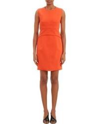 Vestido tubo naranja