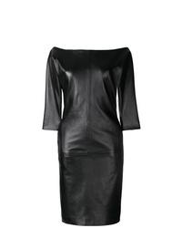 Vestido tubo negro de Dsquared2