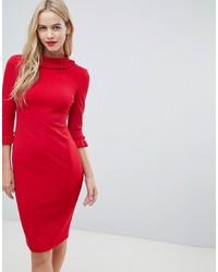 Vestido tubo rojo de City Goddess