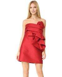 Vestido tubo rojo de Dsquared2