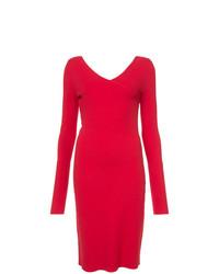 Vestido tubo rojo de Dvf Diane Von Furstenberg