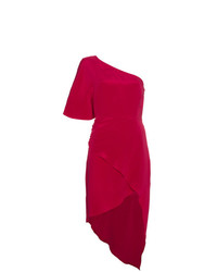 Vestido tubo rojo de Haney