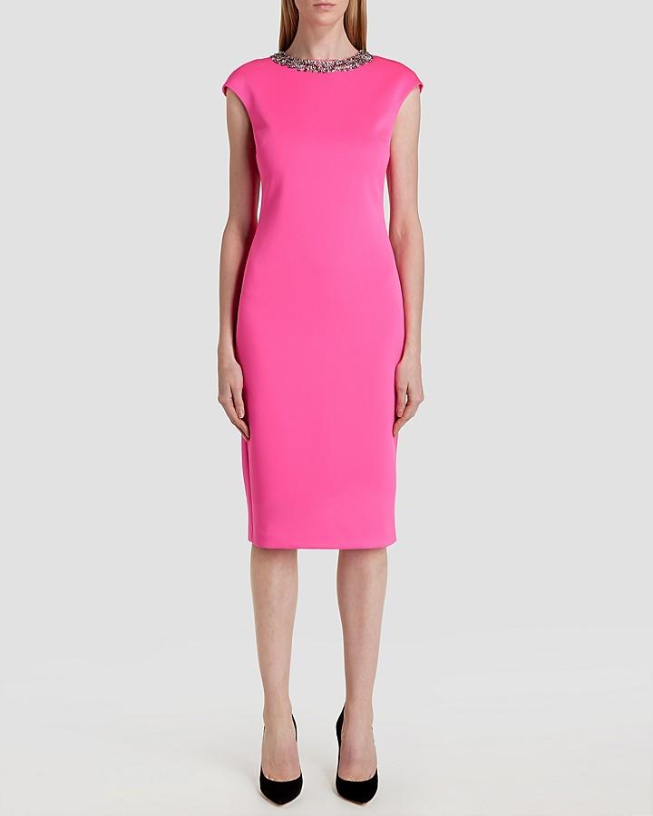 Vestido Tubo Rosa de Ted Baker: dónde comprar y cómo combinar
