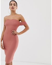 Vestido tubo rosado de The Girlcode