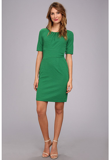 Vestidos verdes tubo